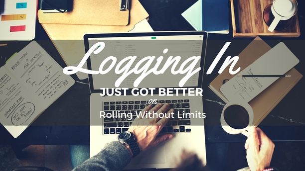 Logging into Rolling Without Limits Just Got Better!