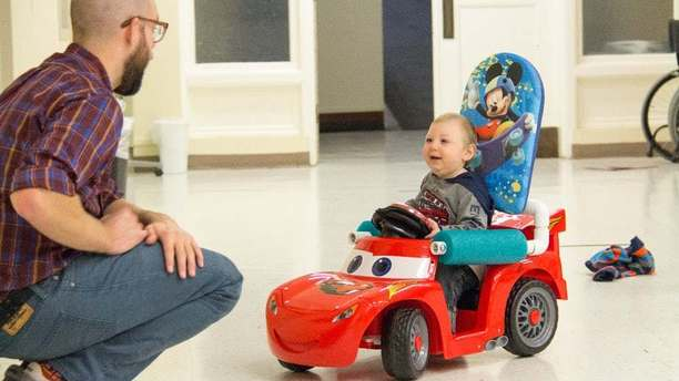 Car Mods Get Children with Disabilities Moving and Throwing