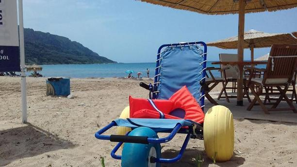 Wheelchair Accessible Beaches Now in Corfu
