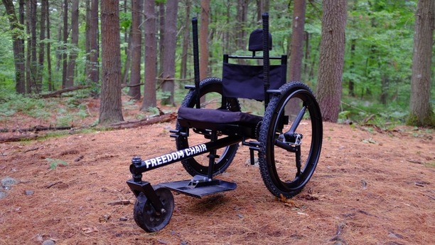Wheelchairs for Rough Terrain Are Now a Reality