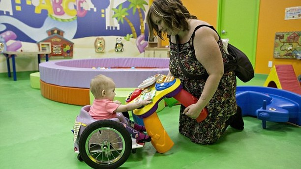 Couple Inspired by Baby to Build Mini-Wheelchairs