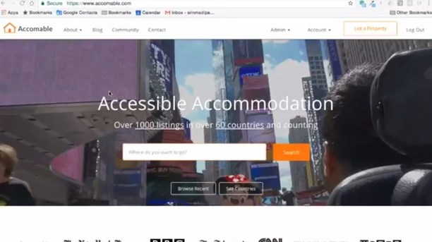 Accomable Helps People with Disabilities Find the Perfect Accommodation