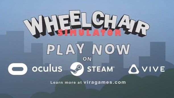 ViRa Games' Wheelchair Simulator VR Lets You Experience the Challenges of Wheelchair Users