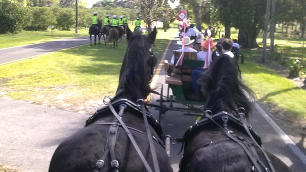The Caravan: Riding Along On The Last Day