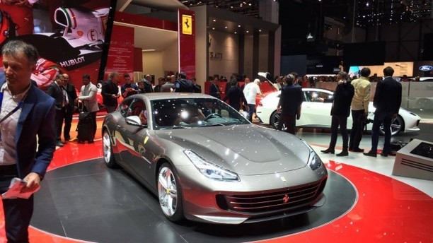 2016 Geneva Motor Show: Ferrari Unveils The Much Faster And Sleeker GTC4 Lusso