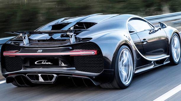 The Buggati Chiron