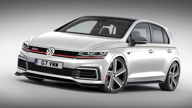New Volkswagen Golf GTI Mk8 in 2019