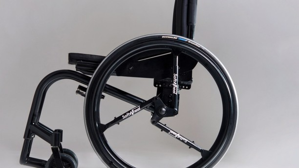Shock Absorbing Wheel is a Great Upgrade