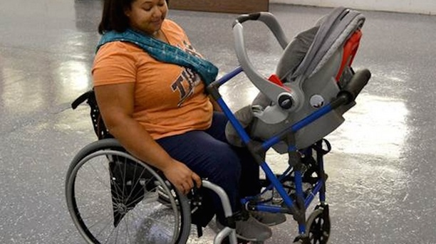Wheelchair Mom Gets a Great Addition