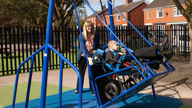 Wheelchair Accessible Swings Are Now a Reality