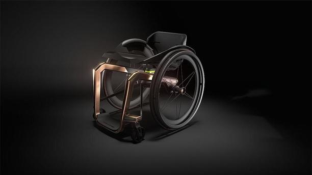 Formula 1 Creates World's Lightest Wheelchair