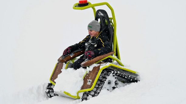 For the Love Of Sports: From Snowmobiling to Adaptive Snowmobiling