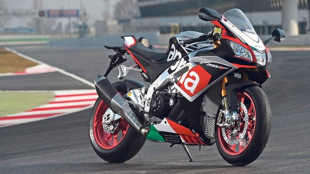 The Power of the Aprilia RSV4 RF Pumping Through Your Veins