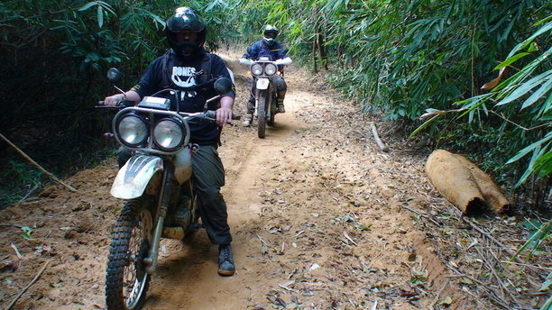 Riding Your Motorbike through The Ho Chi Minh Trail, Vietnam