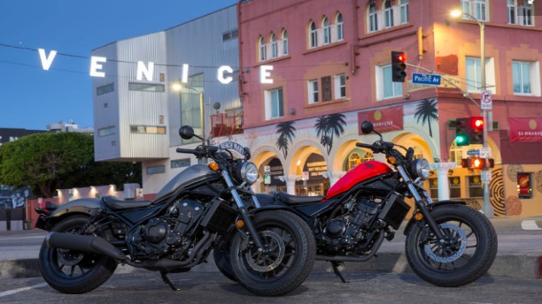 Honda's Upcoming Rebel Motorcycles are Absolutely Drool-worthy